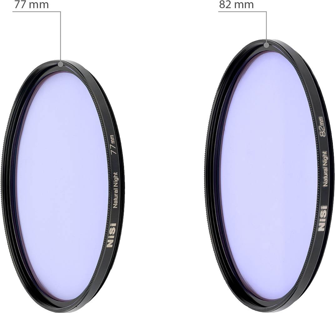 NiSi耐司圆形抗光害黄光截止滤镜