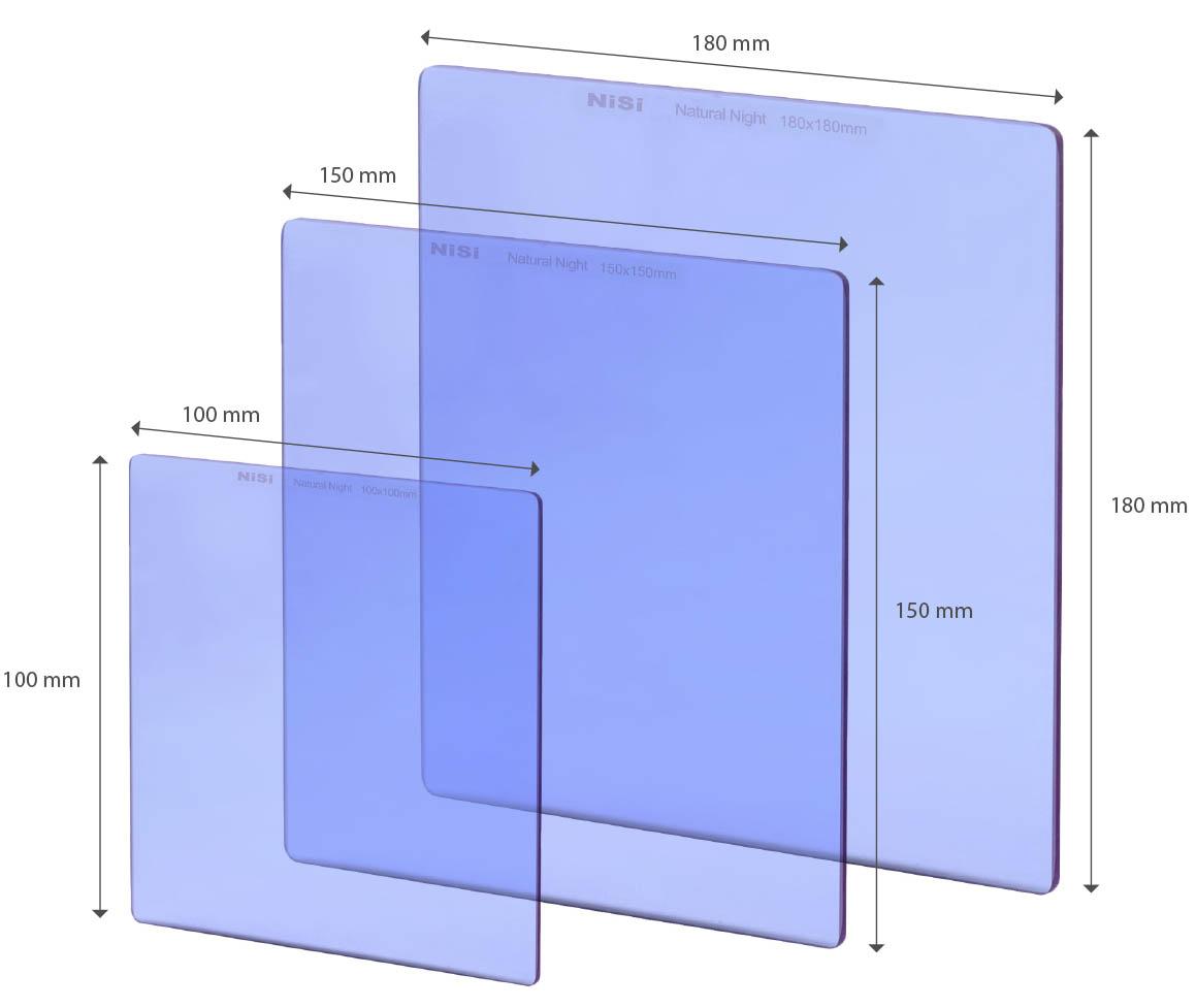 NiSi耐司方形抗光害黄光截止滤镜