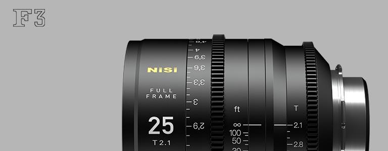 NiSi F3 电影镜头套装