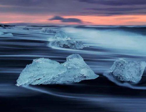 海景摄影专题——浪纹彩绘