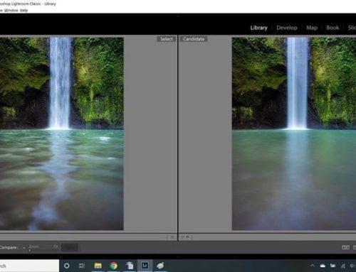 NiSi V6 风光支架系统一起拍摄巴厘岛瀑布