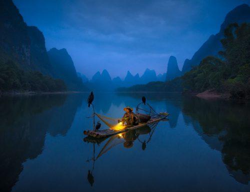 「专访」菲律宾摄影师拍摄桂林渔民照片斩获两项大奖