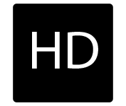 HD from centre to corners